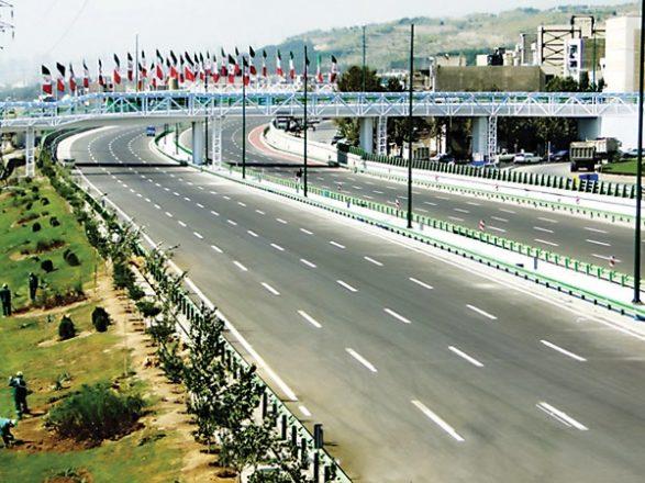 خودکشی دختر ۲۵ساله از پل عابرپیاده بزرگراه جلال آل احمد