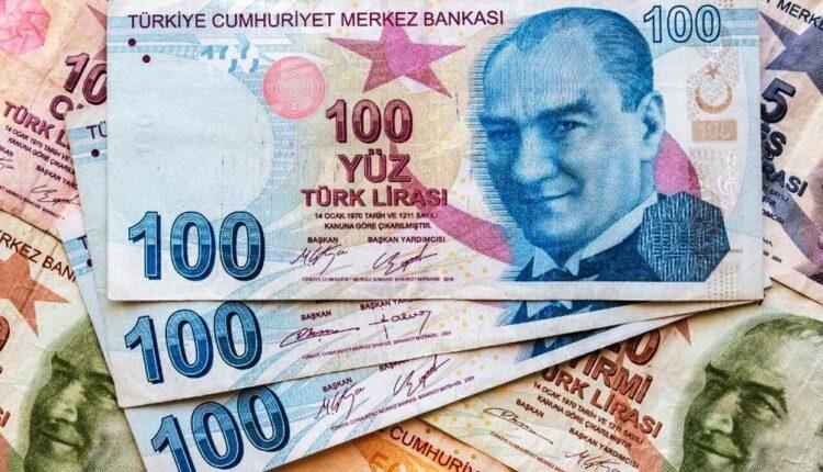 لیر پول ملی ترکیه در قعر تاریخی