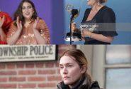 کیت وینسلت برنده جایزه بهترین بازیگر زن امی /عکس