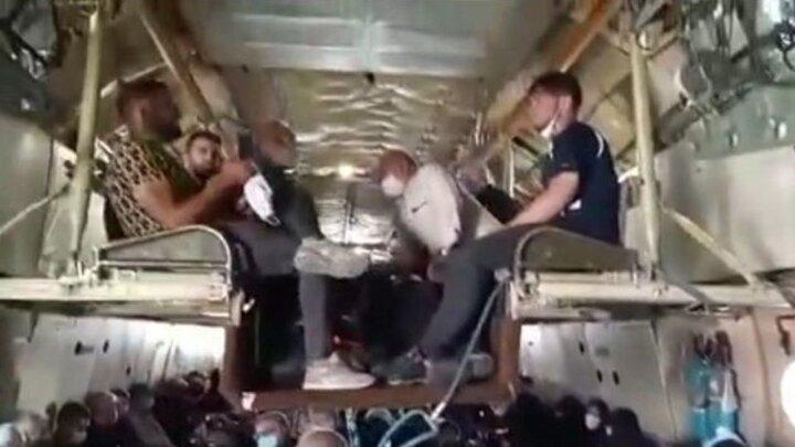 ماجرای کلیپ جنجالی هواپیمای دو طبقه اربعین