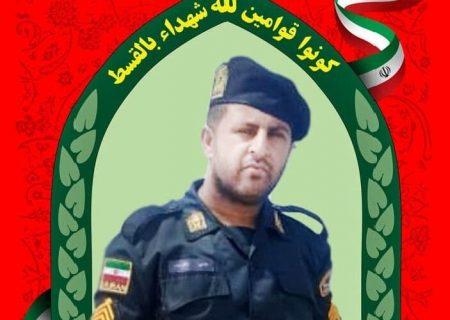 شهادت مامور ناجا در درگیری مسلحانه طایفهای/عکس