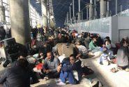 سرگردانی زائران اربعین در فرودگاه بدون عذرخواهی و جبران خسارت /عکس