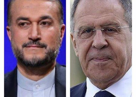 رایزنی وزیران خارجه ایران و روسیه درباره برجام