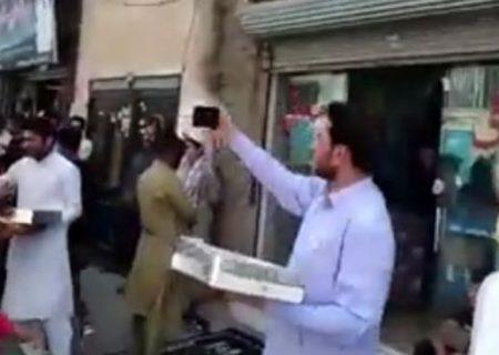 پشتپرده ویدئوی شادی مردم مشهد از پیروزی طالبان