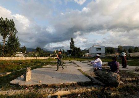 """بازی نوجوانان در محل اختفا و مرگ """"اسامه بن لادن"""" / عکس"""