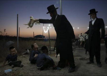 آیین عجیب یهودی/ عکس