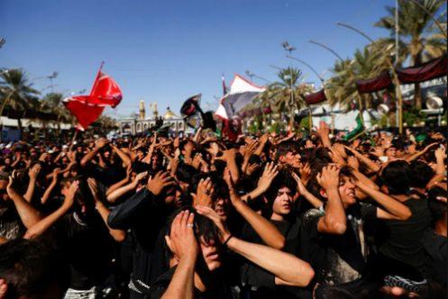 عکس رویترز از عزاداری اربعین حسینی در کربلا