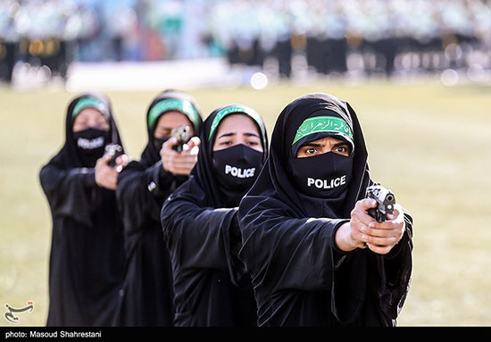 پلیس های زن ایران / عکس