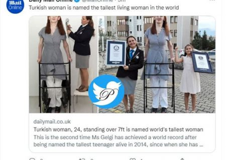 قدبلندترین زن دنیا معرفی شد/ عکس