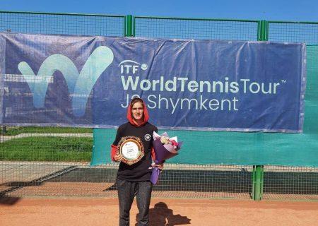 شاهکار تنیسور زن ایرانی در تور جهانی تنیس