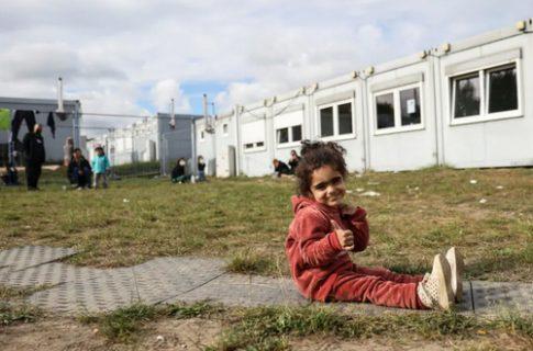 اردوگاه پناهجویان عراقی در مرز آلمان و لهستان/ عکس