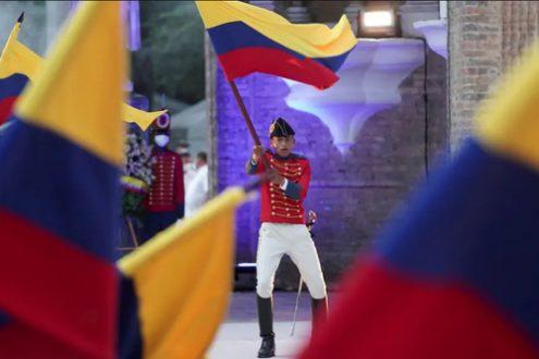 مراسم دویستمین سالگرد تدوین قانون اساسی کلمبیا/ عکس