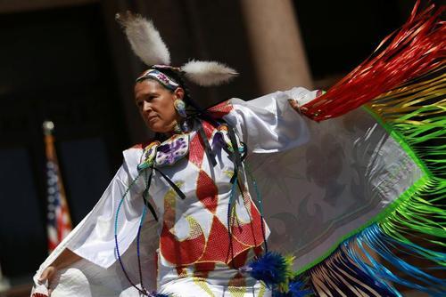برگزاری روز بومیان آمریکا /عکس