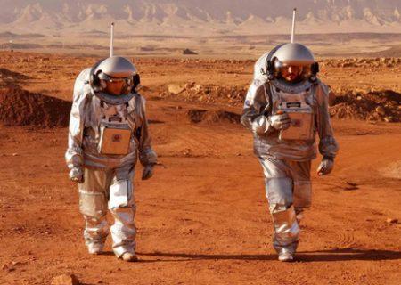 تمرین مشترک فضانوردان اروپایی و اسراییل در صحرای نقب/عکس