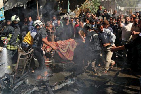 """بمبگذاری در شهر """"عفرین"""" سوریه/ عکس"""