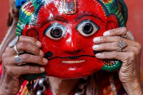 جشنواره شیکالی در نپال/ عکس