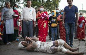 """جشنواره آیینی"""" داشاین"""" در باختاپور نپال"""
